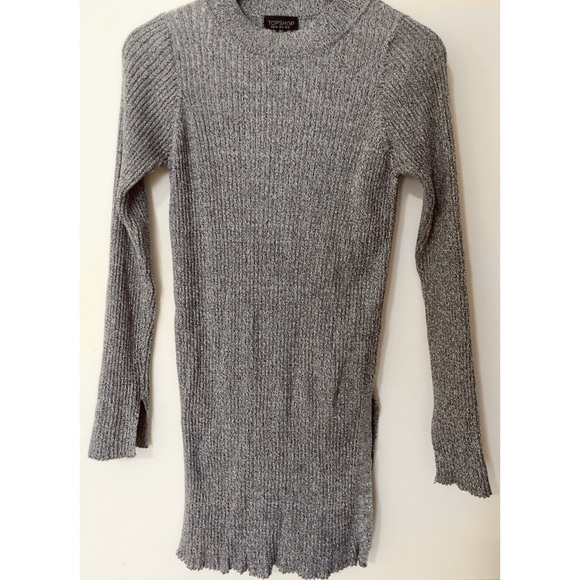 TOPSHOP Knitted Jumper (Gery)